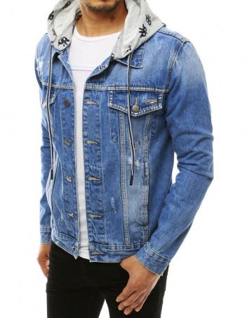Dstreet Pánská džínová bunda Dag modrá