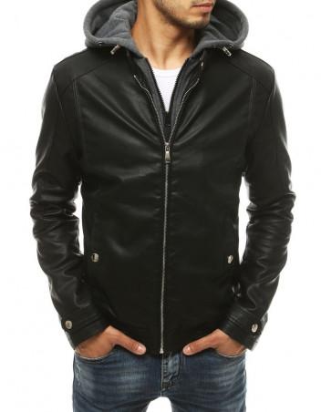 Dstreet Pánská kožená bunda Alvar černá