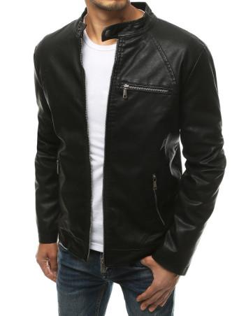 Dstreet Pánská kožená bunda Gorel černá