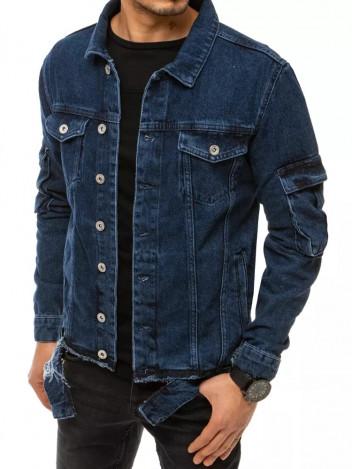 Dstreet Pánská džínová bunda Reigen modrá
