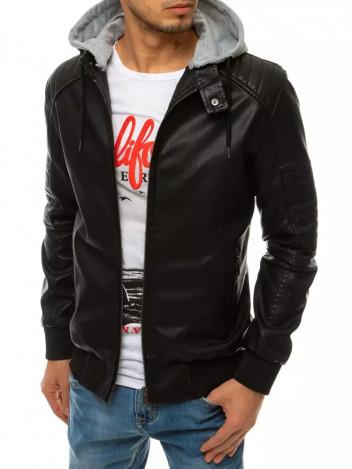 Dstreet Pánská kožená bunda Raffela černá