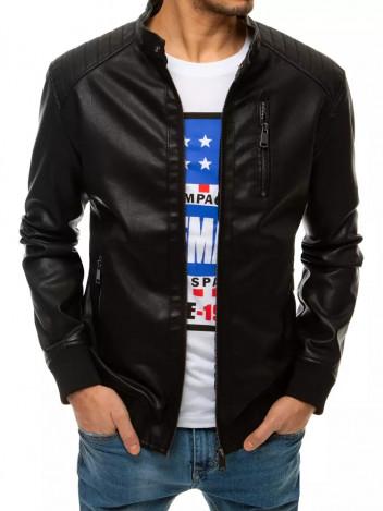 Dstreet Pánská kožená bunda Enrica černá
