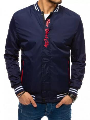 Dstreet Pánská přechodová bunda Nina tmavě modrá