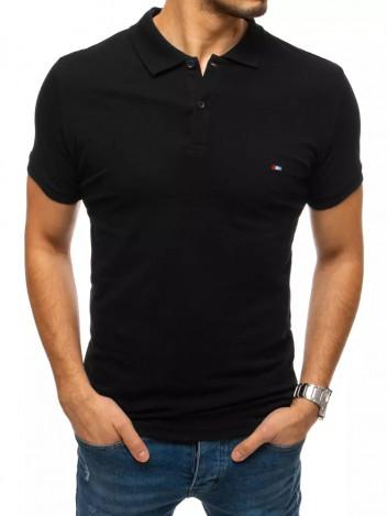 Dstreet Pánské polo tričko Aurea černá