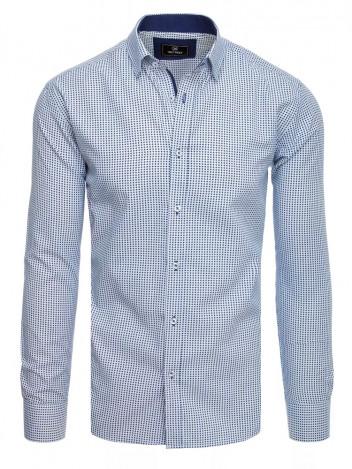 Dstreet Pánská košile Bibian bílá