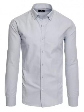 Dstreet Pánská košile Anneliese světle šedá