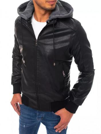 Dstreet Pánská kožená bunda Armella černá