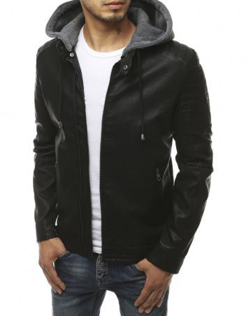 Dstreet Pánská kožená bunda Saloma černá