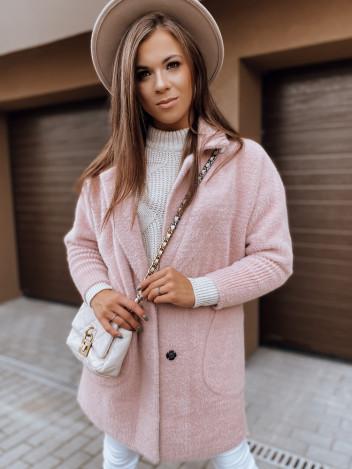 Dstreet Dámský kabát Rita II růžová