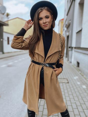 Dstreet Dámský kabát Rokki camel