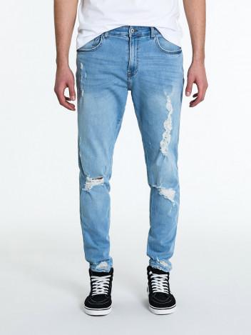 Pánské riflové kalhoty Torleif světle modré
