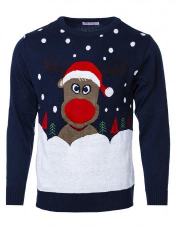 Pánský vánoční svetr se sobem Christmas Reindeer
