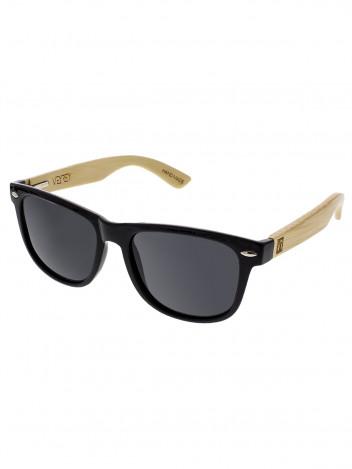 VeyRey Dřevěné polarizační sluneční brýle Conifer černá skla