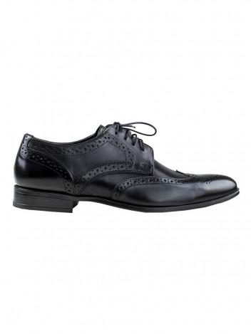 Pánské boty s derbou Angelo černé vel. 40