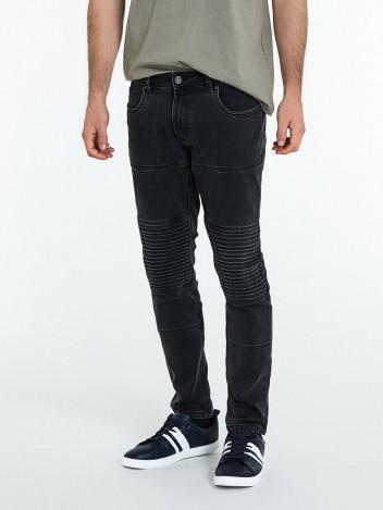 Piazza Italia Pánské riflové kalhoty Edvin černé
