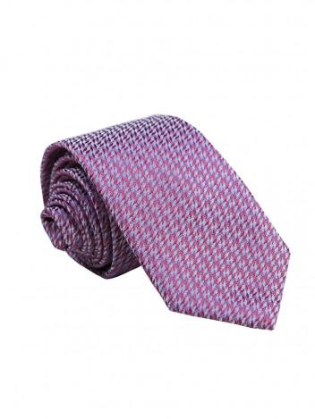 Pánská vzorovaná kravata Barley růžová