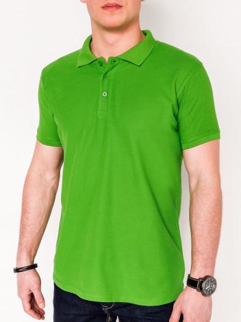Pánské basic polo tričko Sheer světle zelené