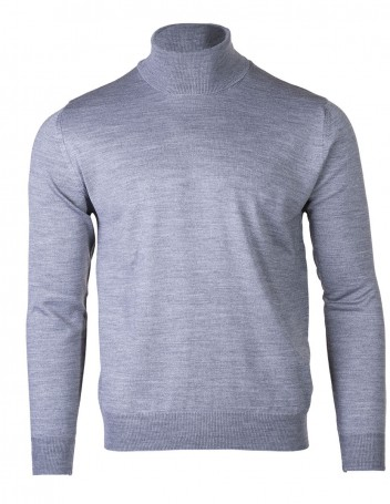 Men's Long-Sleeve Turtleneck Rambus Grey M