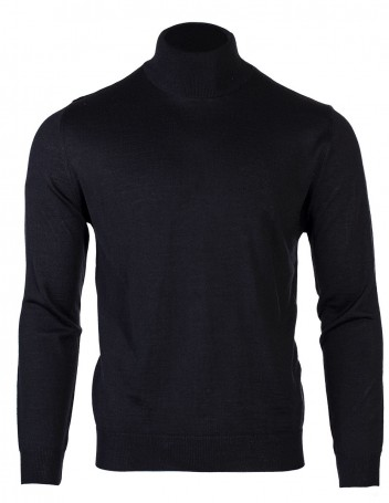 Men's Long-Sleeve Turtleneck Rambus Black M