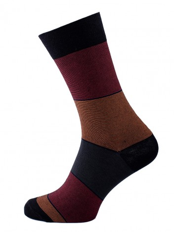Mens Socks True Black size 39-41