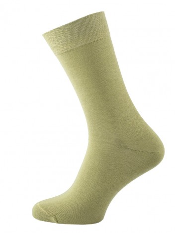Mens Socks Pea Green size 39-41