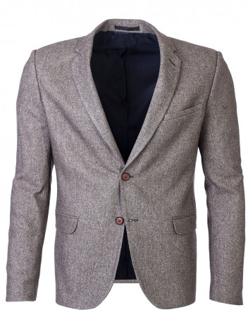 Mens Blazer Cash Brown S (100)
