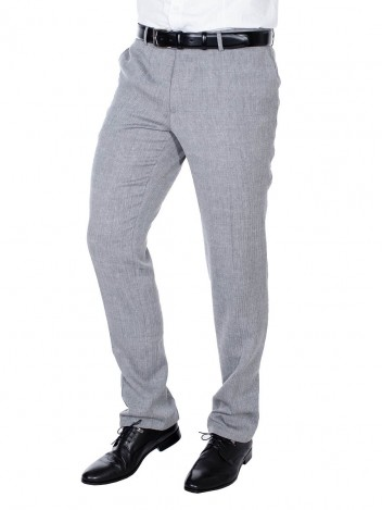 Mens Trousers Bernardo Grey S - W31/L36