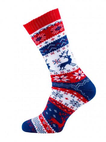 Veselé vánoční ponožky Warm Rudolph
