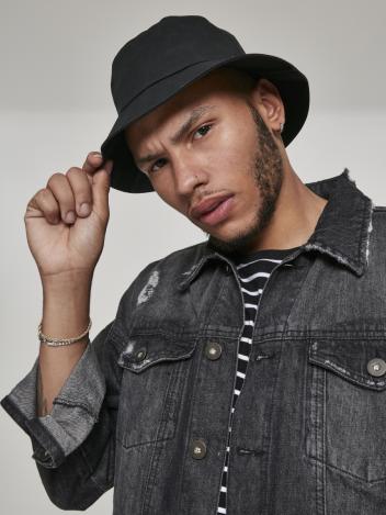 Ubran Classics Pánský klobouk Bucket černé