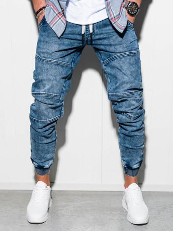 Pánské jogger kalhoty Edison modré