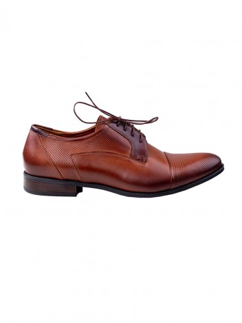 Mens Formal Shoes Pier Brown size 41