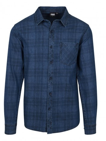 Mens Shirt Flanger Dark Blue S