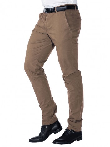 Mens Brown Chinos Juan W31/L32