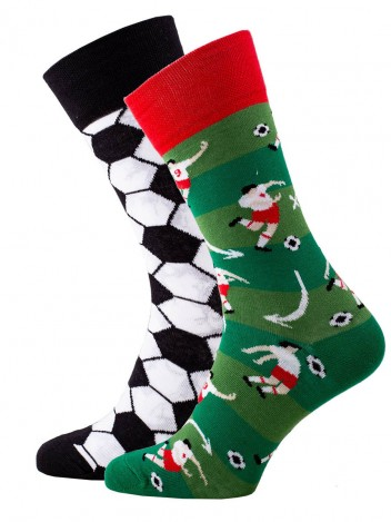 Mens Socks Football Green size 39-42