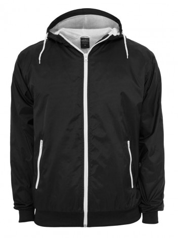 Mens Autumn Jacket Windbreaker Black
