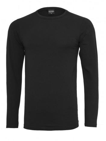 Mens Long T-shirt Flex Black S