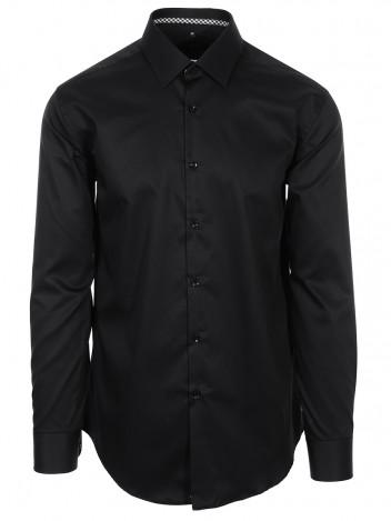 Mens Shirt Baron Black