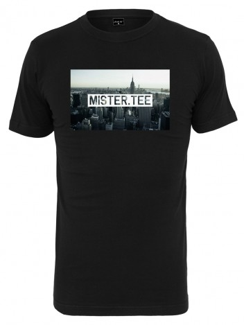 Mens T-shirt City Black