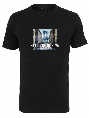 Mens T-shirt Brooklyn Black