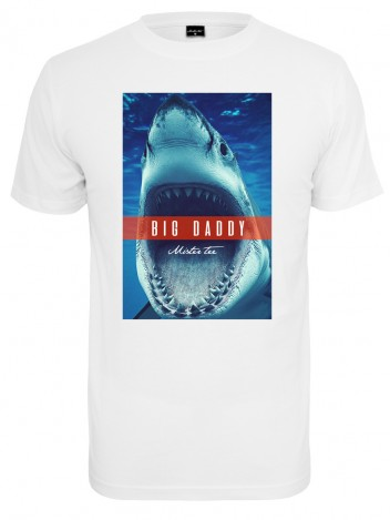 Mens T-shirt Jaws White