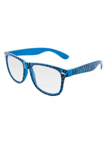 Sluneční brýle Nerd zebra čiré