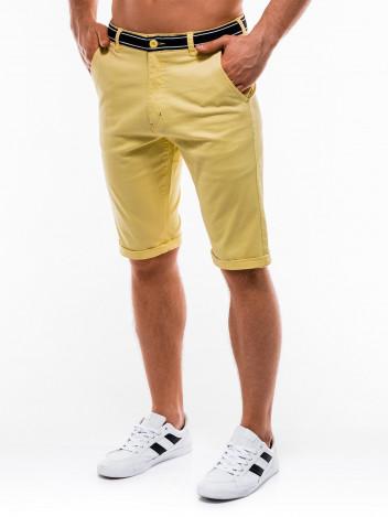 Pánské šortky bermudy Nexton žluté