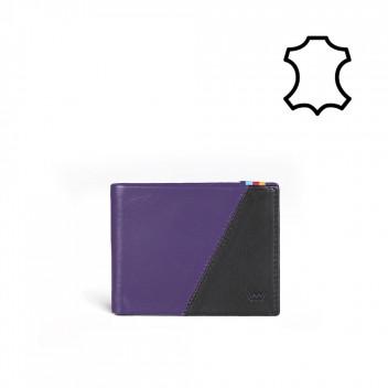 Vuch Pánská peněženka Michael černo-fialová