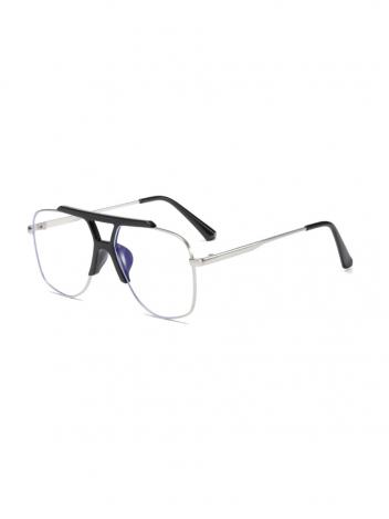 VeyRey Brýle blokující modré světlo Asa stříbrné