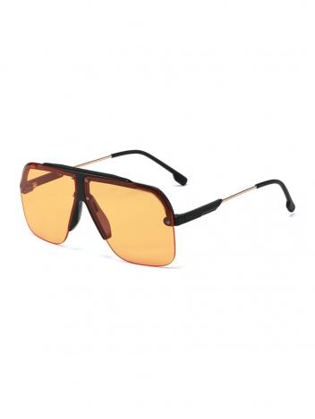 VeyRey Sluneční brýle Axel oranžová skla