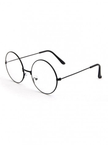 Brýle s čirými skly Batten černé