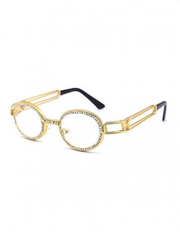 VeyRey Brýle s čirými skly Clair zlaté