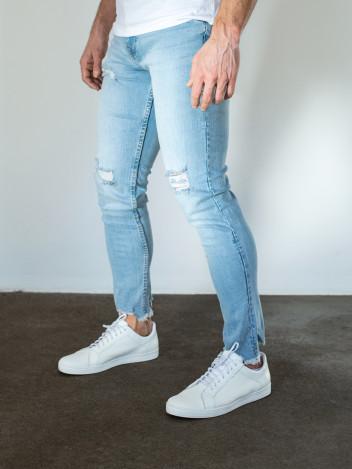 Pánské riflové kalhoty Damon světle modré