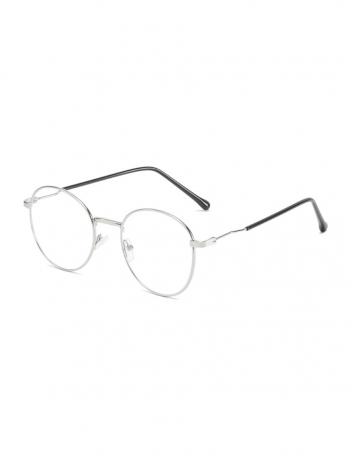 Veyrey fotochromatické brýle blokující modré světlo Deug stříbrné