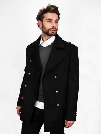 Pánský kabát Emile černý
